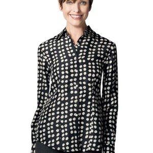 CAbi | Silk Polka Dot Blouse Style #664